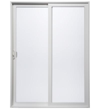 white Wincore sliding door